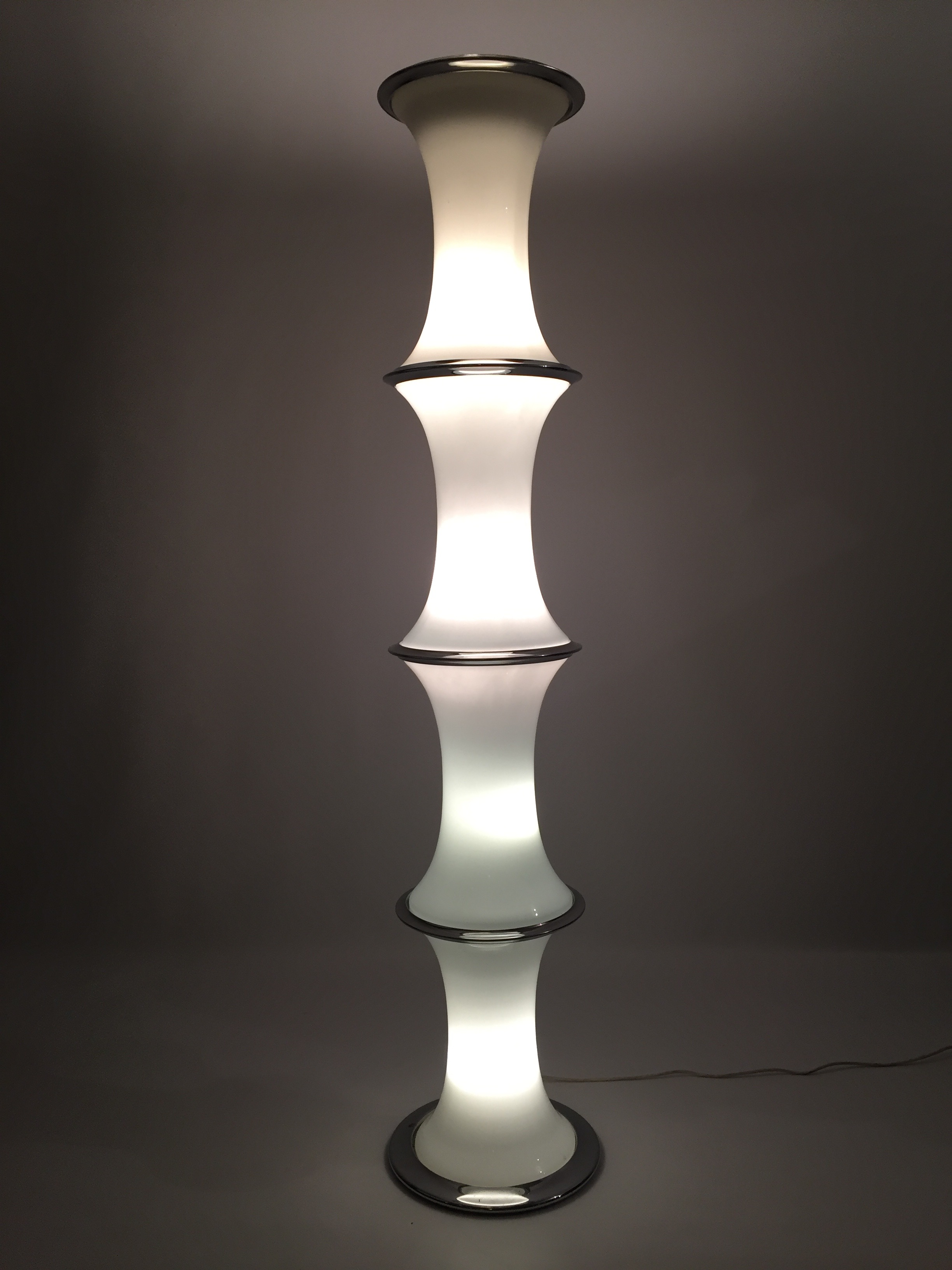 Tronconi Bamboo Floor Lamp