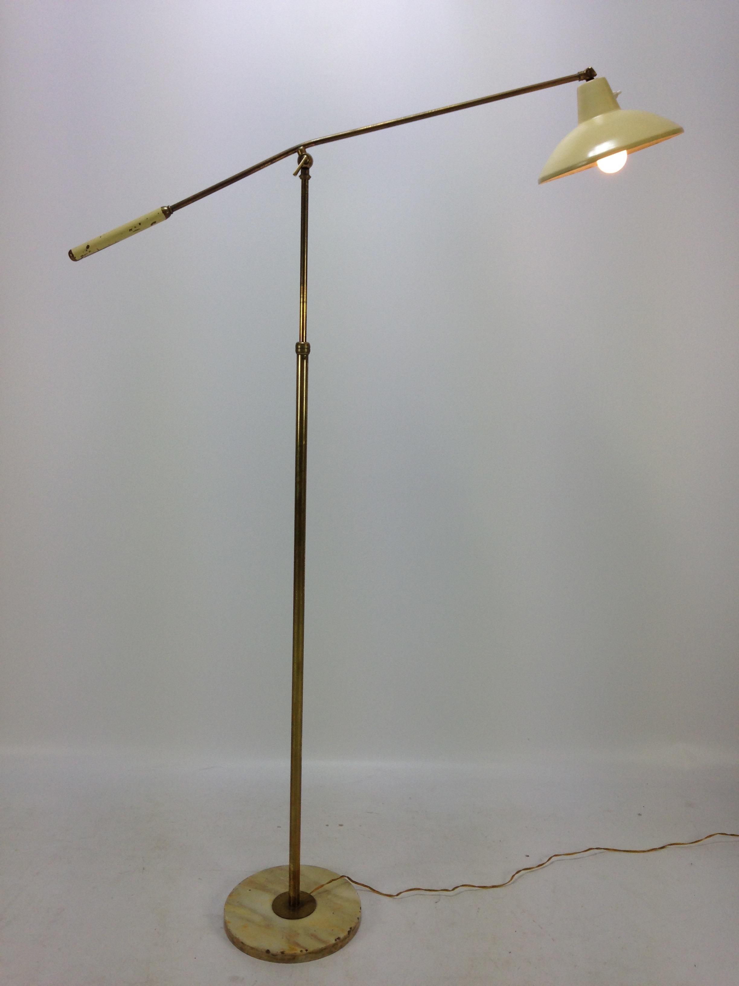 Italian Stilux floor lamp, 1950's