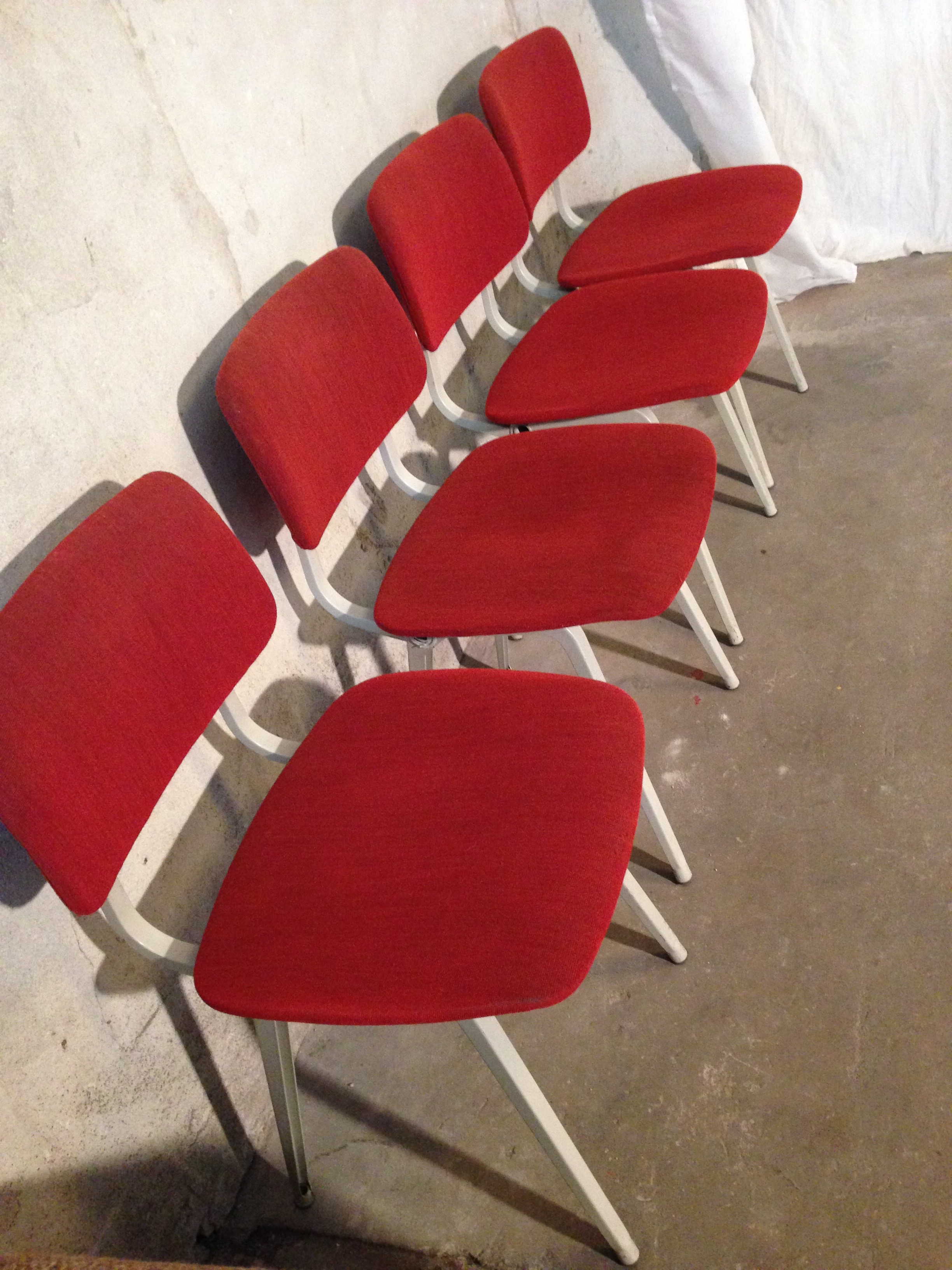 SOLD - Friso Kramer Revolt Chairs - SOLD