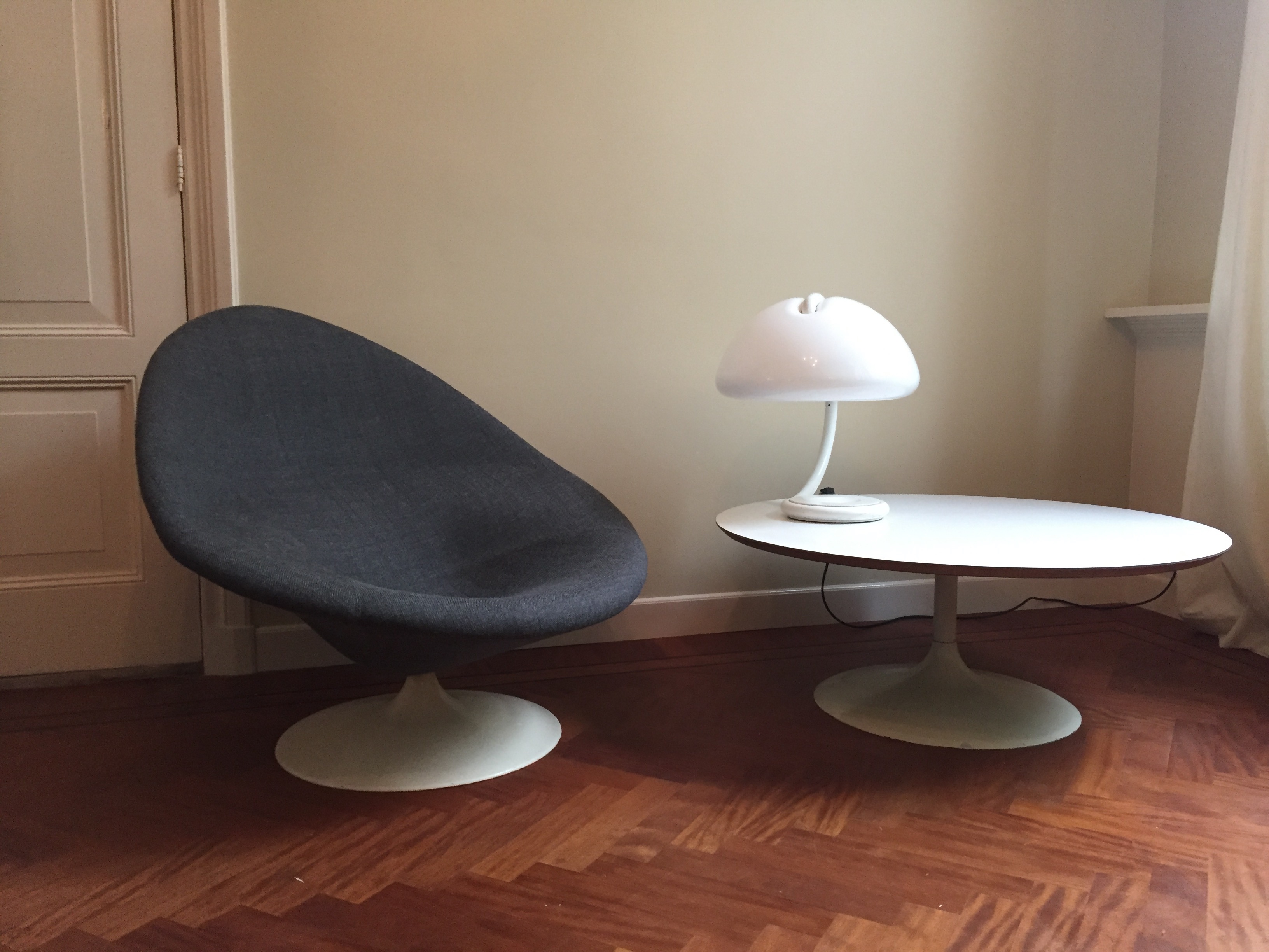 Artifort Globe Chair, Designed By Pierre Paulin. Just Upholstered!